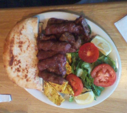 Bosnian mixed grill « United Nations of Food (NYC)