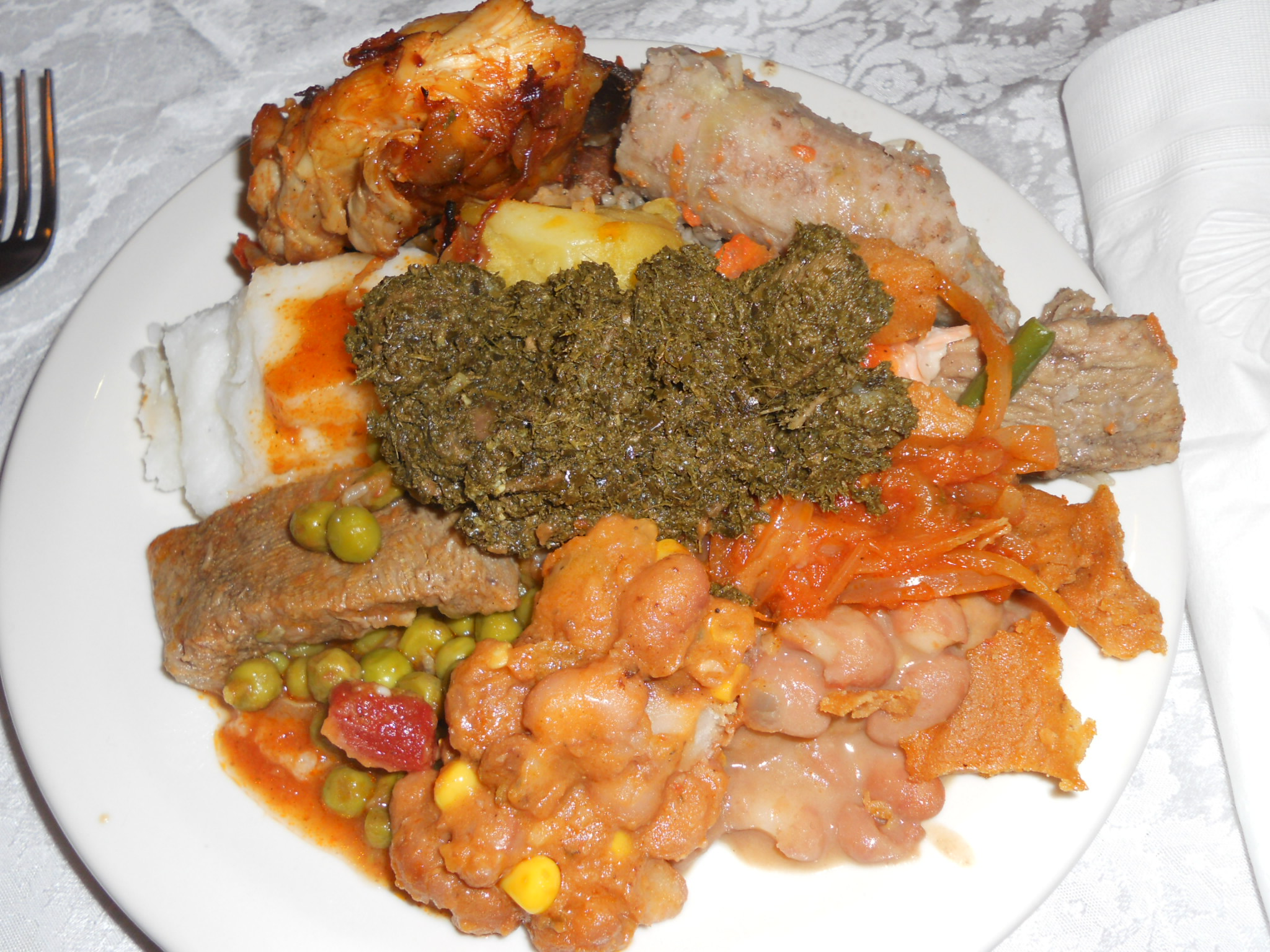 African food images reverse search for Afrikaans cuisine
