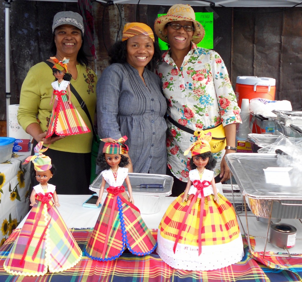 Mount Zion Church vendors at Saint Lucian Jounen Kweyol NYC