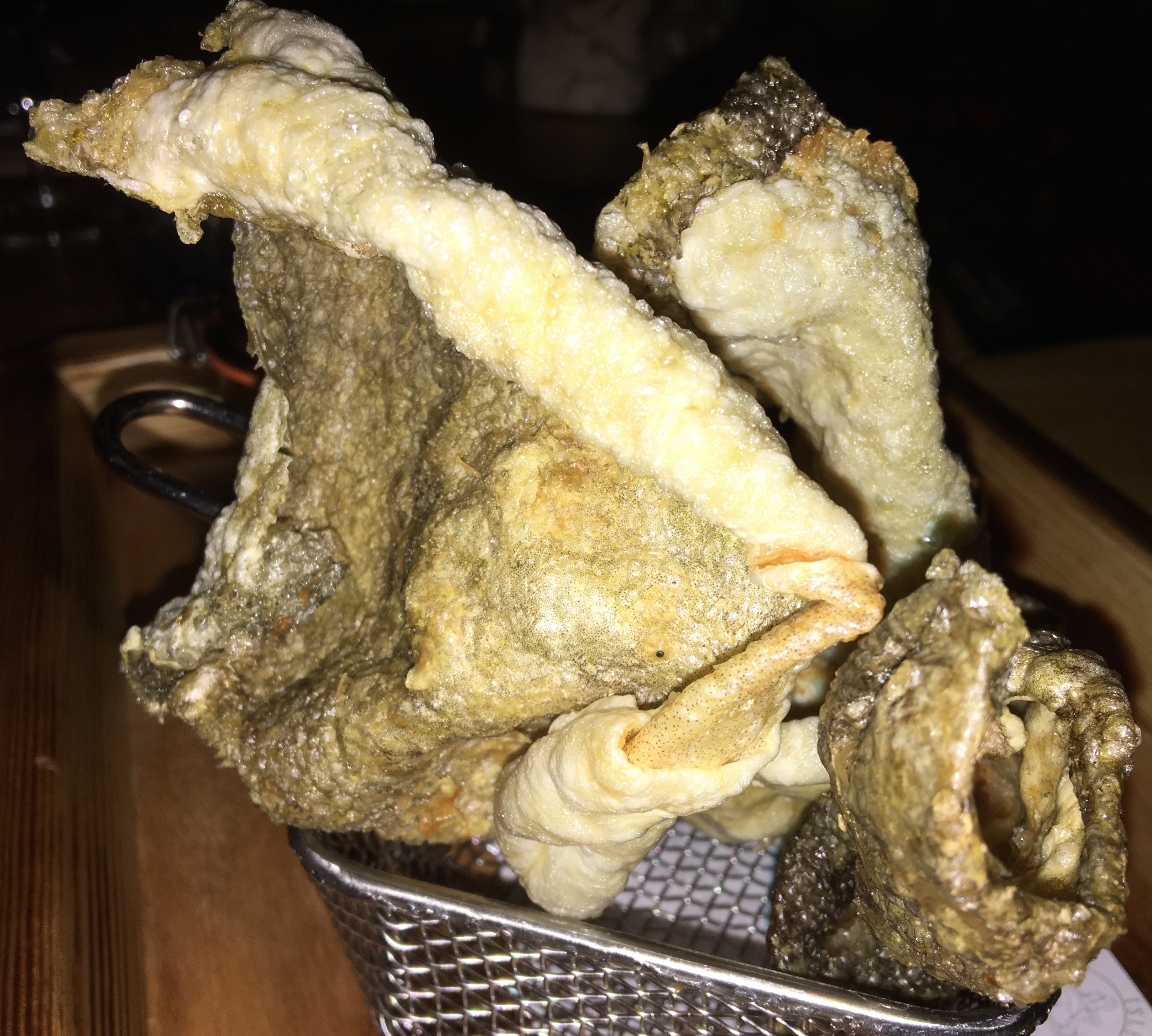 Icelandic whale cod burgers united nations of food nyc for Icelandic fish and chips nyc